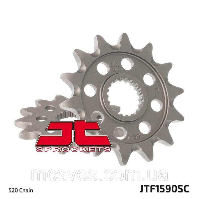 Звезда стальная передняя JT Sprockets JT JTF1590.14SC
