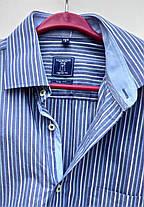 Чоловіча сорочка в полоску Redmond Розмір S ( Я-13), фото 2