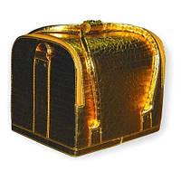 Бьюти-кейс 2700-1 (золотой лаковый)