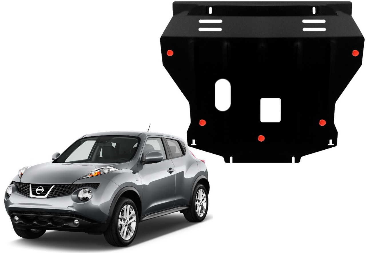 Защита двигателя Nissan Juke 2010-2021