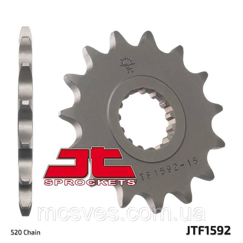 Звезда стальная передняя JT Sprockets JT JTF1592.14