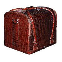 Бьюти-кейс 2700-1 (коричневый лаковый)