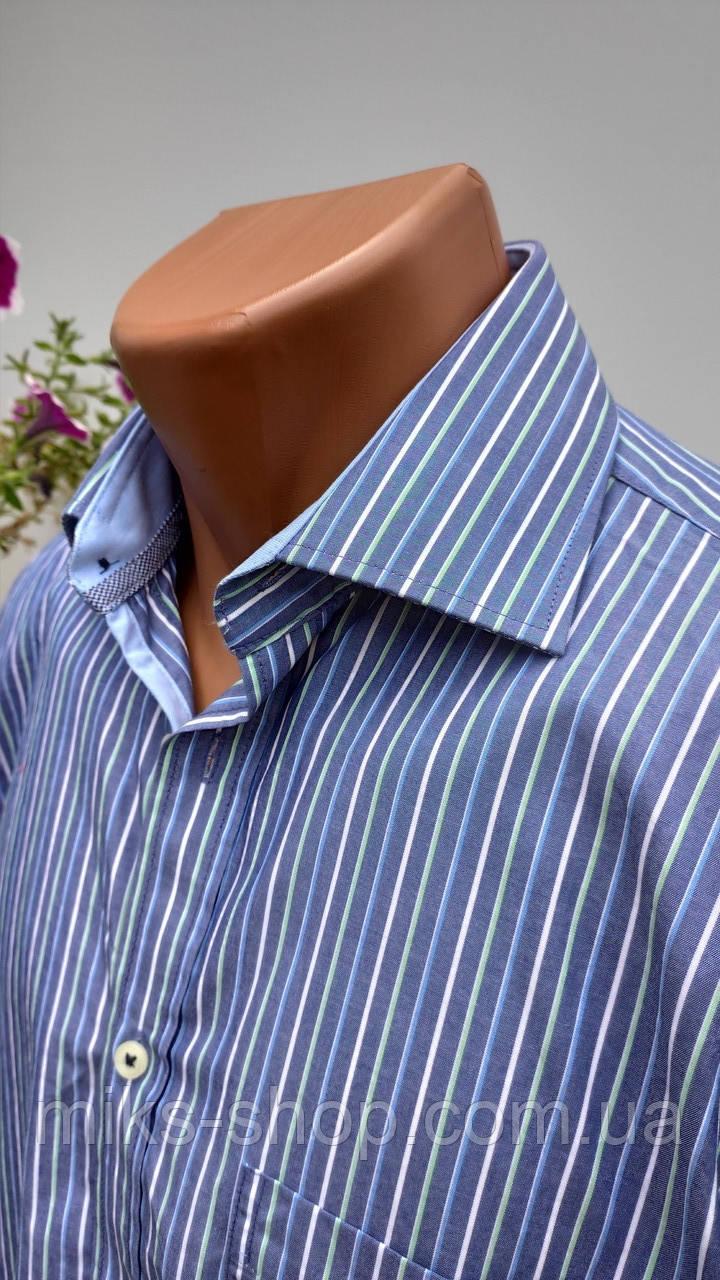 Чоловіча сорочка в полоску Redmond Розмір S ( Я-13)