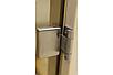 Универсальная стеклянная дверь липа Tesli Steel Sateen 1900х700мм бронзовая матовая для бани и сауны, фото 4