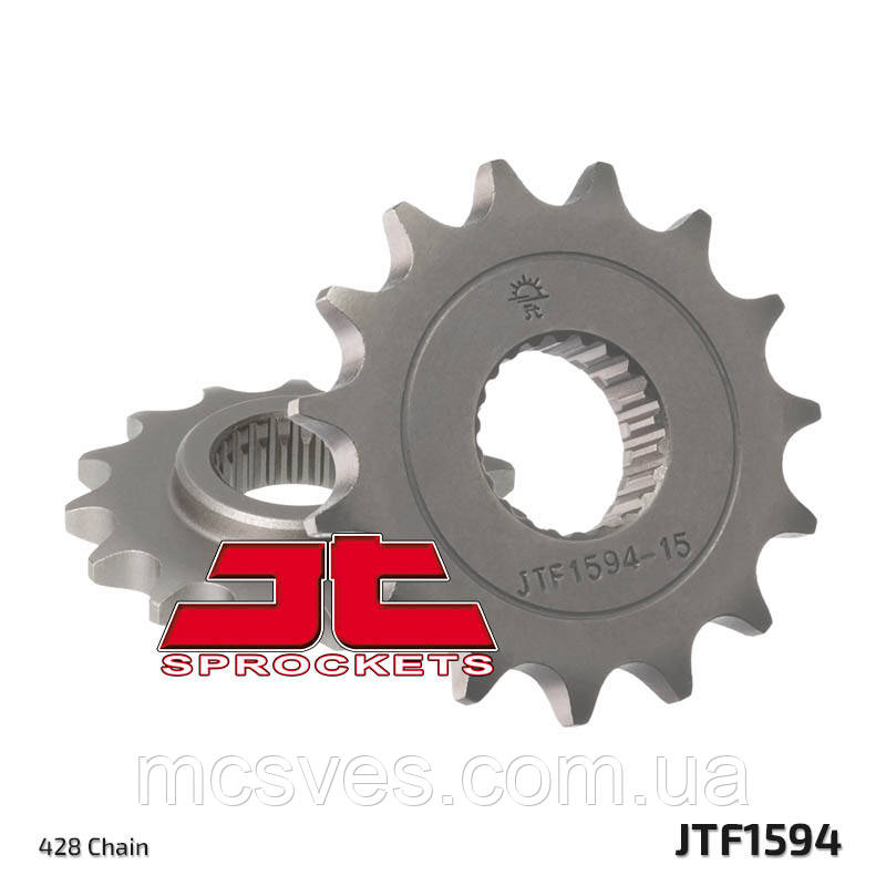 Звезда стальная передняя JT Sprockets JT JTF1594.15