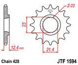 Звезда стальная передняя JT Sprockets JT JTF1594.15, фото 2