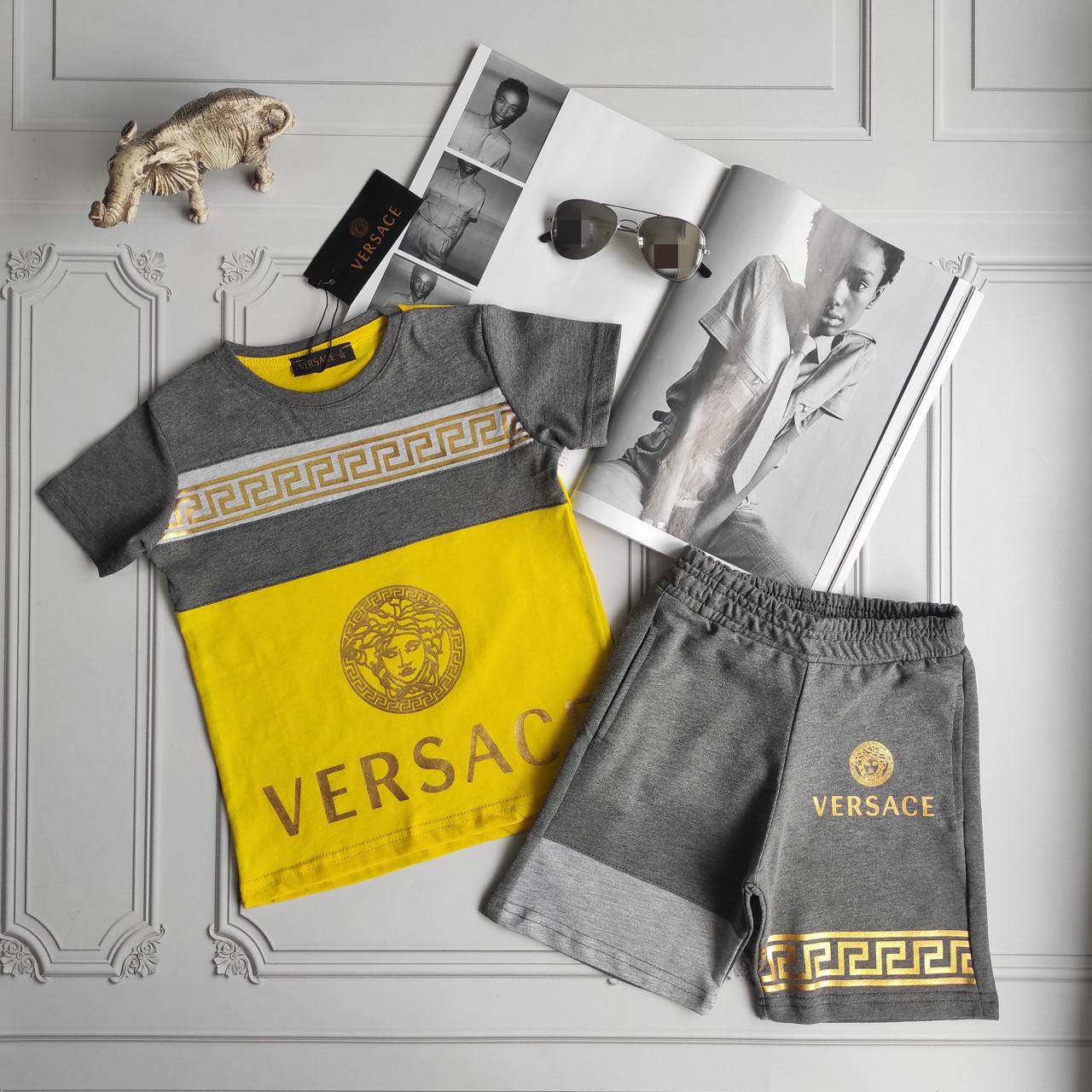Летний детский костюм Versace