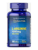 Л-карнітин, L-Lysine, Puritan's Pride, 1000 мг, 60 таблеток