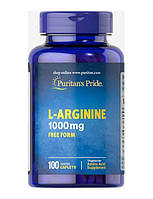 Л-лизин, L-Lysine, Puritan's Pride, 1000 мг, 60 таблеток