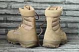 Ботинки кожаные военные. Берцы, ботинки трекинговые, армейские EXC Trooper 8.0. Спецобувь., фото 4