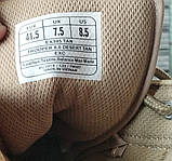 Ботинки кожаные военные. Берцы, ботинки трекинговые, армейские EXC Trooper 8.0. Спецобувь., фото 5