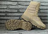 Ботинки кожаные военные. Берцы, ботинки трекинговые, армейские EXC Trooper 8.0. Спецобувь., фото 6