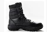 Ботинки кожаные военные. Берцы, ботинки трекинговые, армейские EXC Trooper 8.0. Спецобувь., фото 9