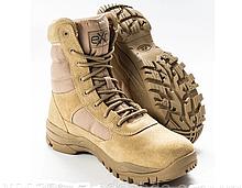 Ботинки кожаные военные. Берцы, ботинки трекинговые, армейские EXC Trooper 8.0. Спецобувь.
