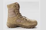 Ботинки кожаные военные. Берцы, ботинки трекинговые, армейские EXC Trooper 8.0. Спецобувь., фото 10