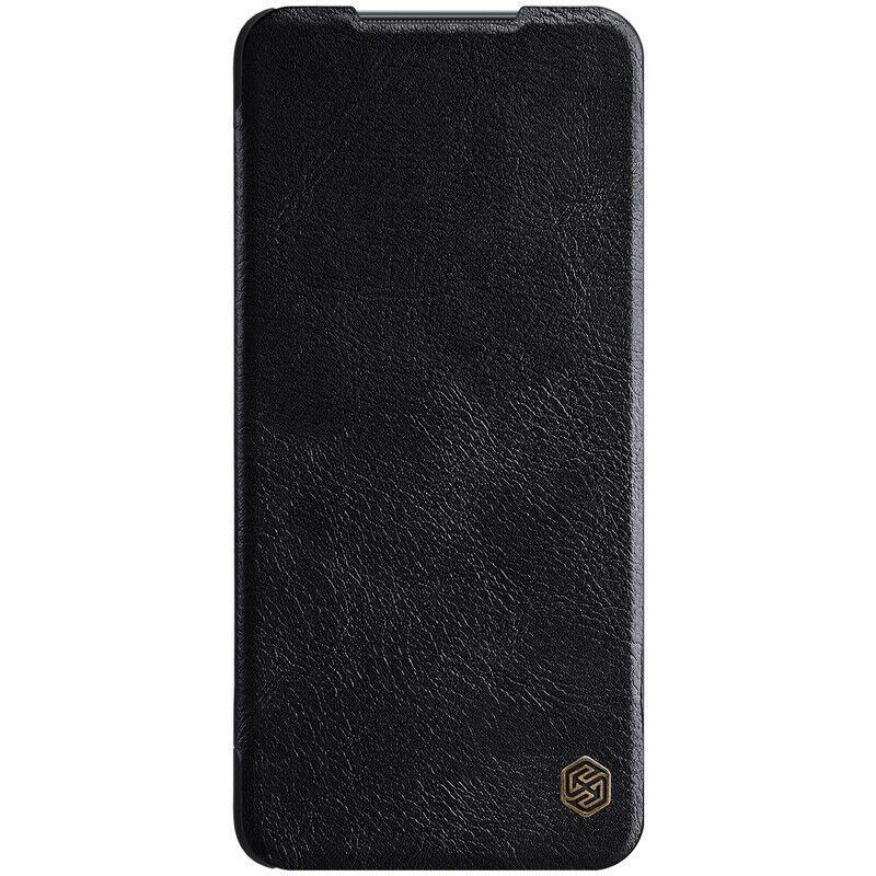 Защитный чехол-книжка Nillkin для Xiaomi Mi 10T Lite 5G/ Redmi Note 9 Pro 5G Qin leather case Black