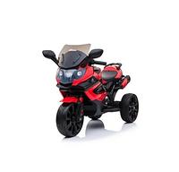 Детский трехколесный электромотоцикл Moto Sport LQ168 А красный