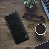 Захисний чохол-книжка Nillkin для Huawei Mate 40 Pro Qin leather case Black, фото 6