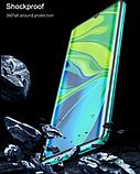 Магнітний метал чохол FULL GLASS 360° для Xiaomi Mi Note 10 Lite /, фото 7