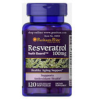 Биологически активная добавка Ресвератрол (Resveratrol) 100mg 120 капсул