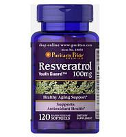 Біологічно активна добавка Ресвератрол (Resveratrol) 100mg 120 капсул