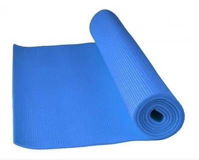 Коврик для йоги Power System Fitness Yoga Синий 183995