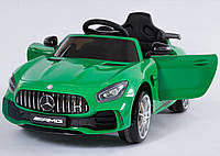 Детский легковой электромобиль Mercedes C1913 зеленый