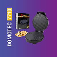 Электрическая вафельница DOMOTEC MS 7710 1000Вт для приготовления тонких вафель