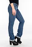 Джинсы женские OMAT jeans 9467-627 синие, фото 7