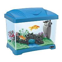 Ferplast (Ферпласт) CAPRI JUNIOR - Пластиковый аквариум в комплекте с фильтром и лампой