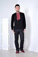 Качественная мужская вышиванка с длинным рукавом