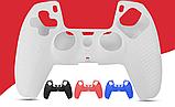 Силиконовый чехол Rondaful для геймпада джойстика DualSense PS5, фото 6