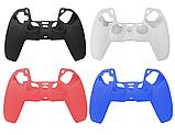Силиконовый чехол Rondaful для геймпада джойстика DualSense PS5, фото 2