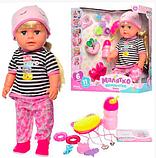 "Кукла ""Sister"" Малятко (аналог Baby Born Старшая Сестра) на шарнирах 42 см, фото 3"