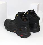 Зимние мужские спортивные ботинки черного цвета Q SHOES, фото 6