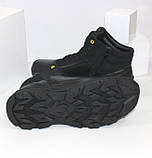 Зимние мужские спортивные ботинки черного цвета Q SHOES, фото 7