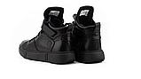 Женские ботинки зимние черные Road-style кожа, фото 5