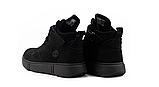 Женские ботинки зимние черные Road-style кожа, фото 6