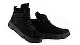 Женские ботинки зимние черные Road-style кожа, фото 7