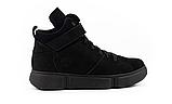 Женские ботинки зимние черные Road-style кожа, фото 8