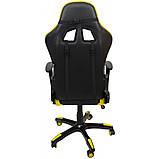 Кресло геймерское Bonro 2018 желтое, фото 4