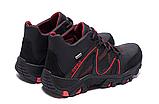 Мужские зимние кожаные ботинки IceField Gore-Tex Black реплика, фото 6