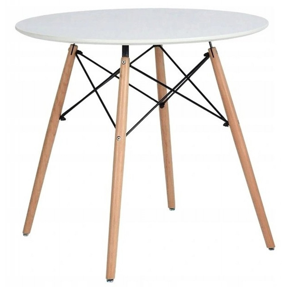 Столик круглый В-957-900 Белый