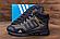 Ботинки зимние мужские кожаные  Adidas TERREX Green (реплика), фото 4