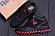 Ботинки спортивные зимние мужские кожаные Reebok Crossfit красные (реплика), фото 4