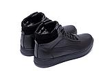 Кроссовки зимние мужские кожаные Puma SUEDE Black leather, фото 7