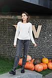 Женские ботинки кожаные зимние чёрные Best Vak 2020, фото 9