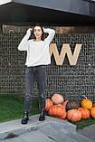Женские ботинки кожаные зимние чёрные Best Vak 2020, фото 10