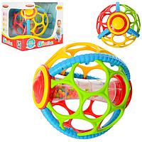 Погремушка шар для новорожденных, прорезыватель для зубов, детская развивающая игрушка для младенца