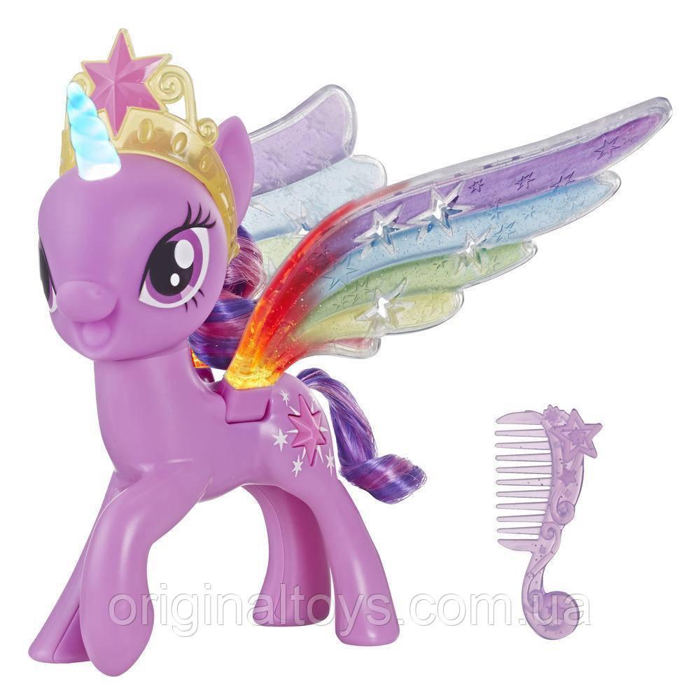 Фигурка с радужными крыльями Твайлайт Спаркл My Little Pony Hasbro